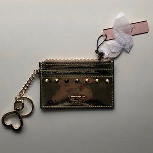 Victoria secret gold wallet